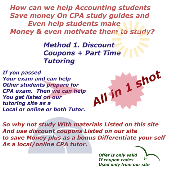 Cpa exam info how tutoring services llc helps cpa students who want to be future cpa tutors make money fandeluxe