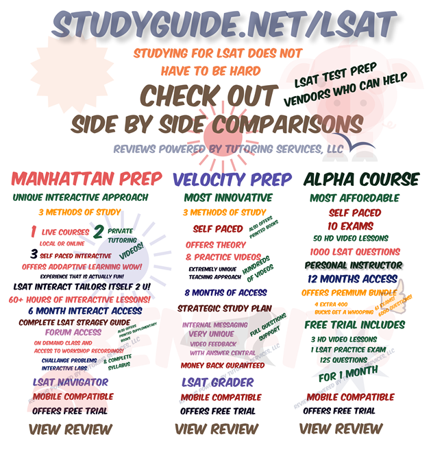 how to study for the lsat