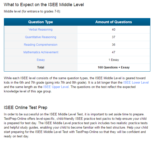 Ssat middle level essay sample