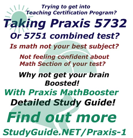 MathBooster Teacher Certification Diagnostic Study System Detailed ...