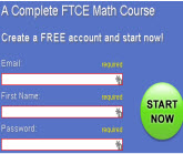 FTCE E-Course for Math