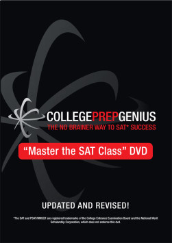 College Prep Genius SAT Learning Tools in DVD