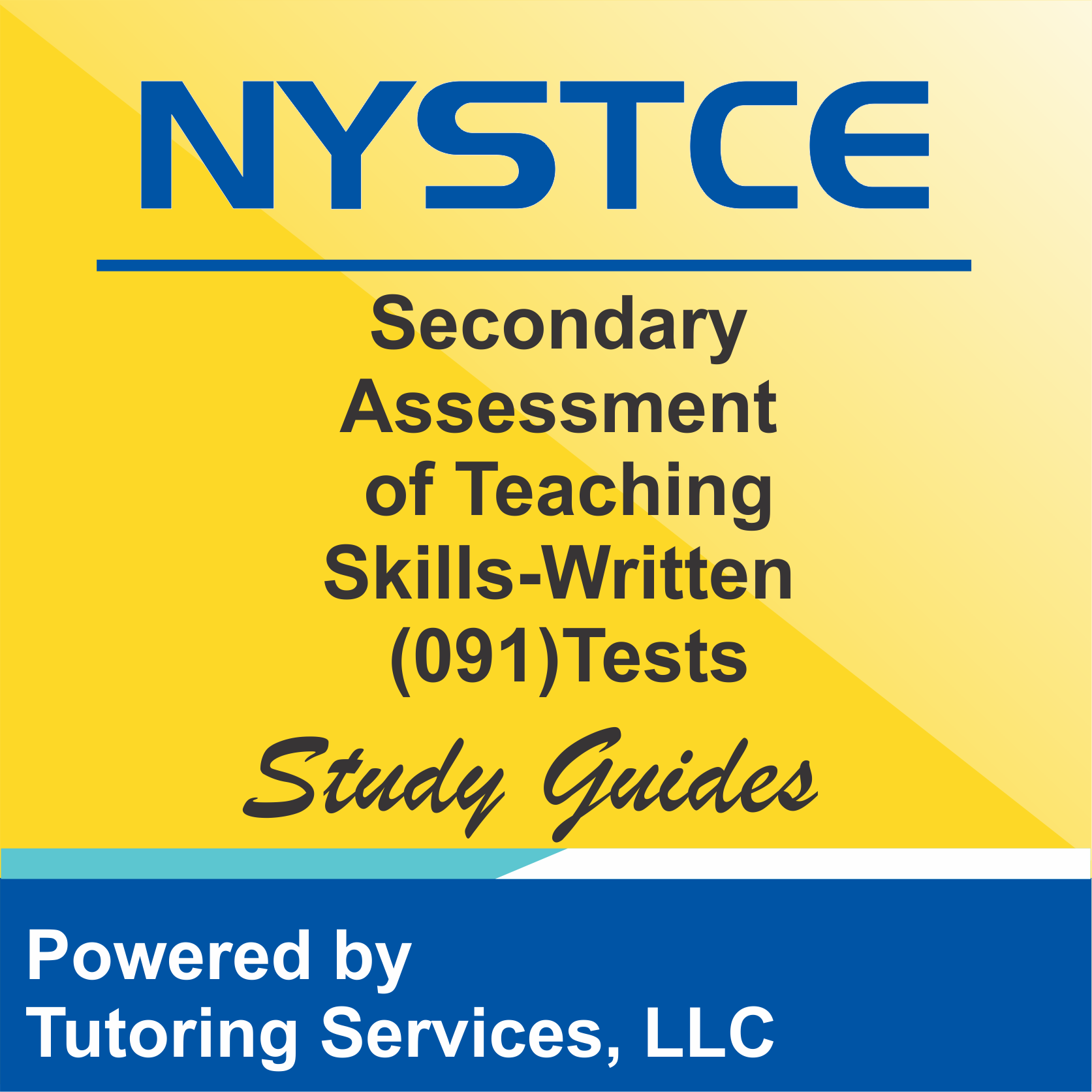 NYSTCE New York Public Teacher Test Details for Secondary Assessment of Teaching Skills-Written 091