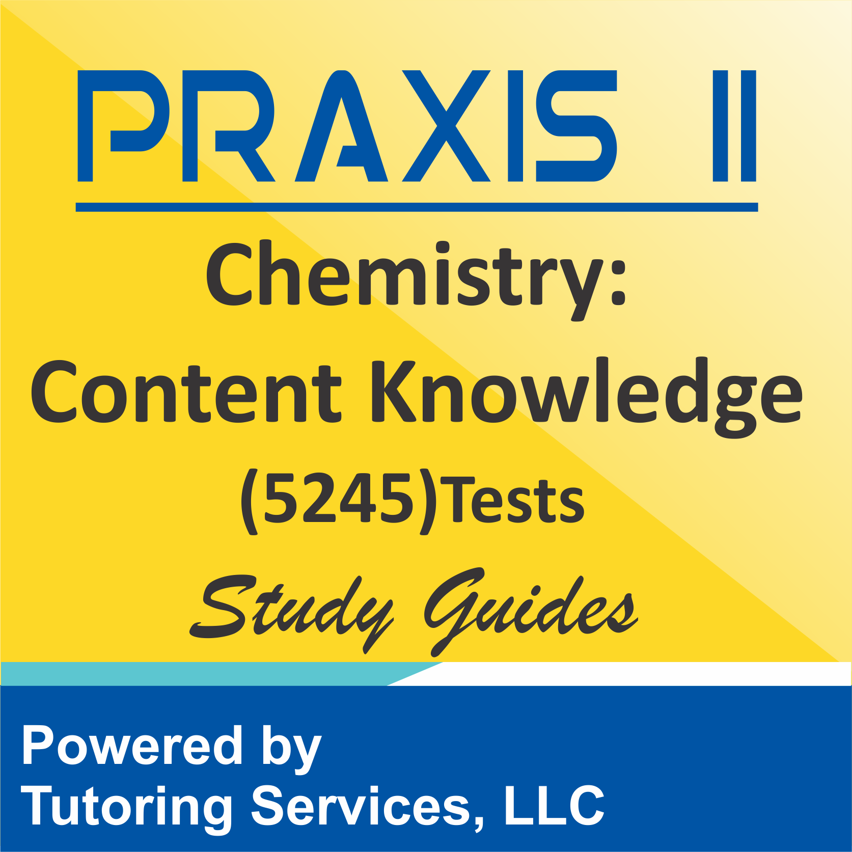 Praxis II Chemistry: Content Knowledge (5245)Examination Description