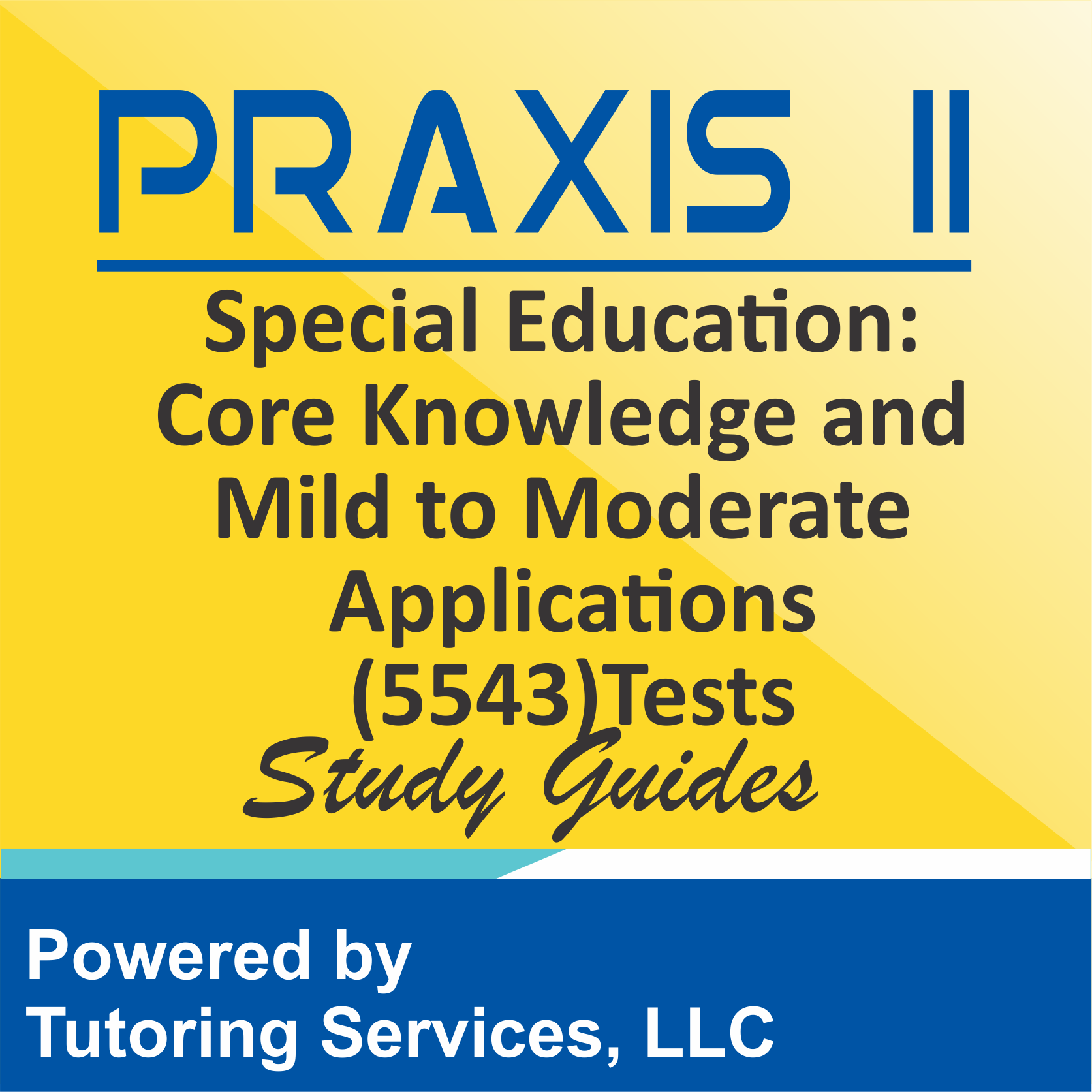 Praxis II Special Education: Core Knowledge and Mild to Moderate Applications (5543) Test
