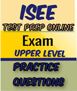 isee upper level practice questions access