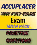 accuplacer math practice tests