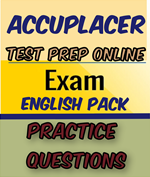 accuplacer english pack
