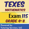 texes math grade 4-8 elementary and middle school