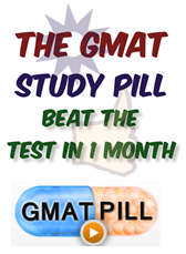GMAT Pill 6-Pill Combo Course Learning Tools for Graduate Management Admission Test